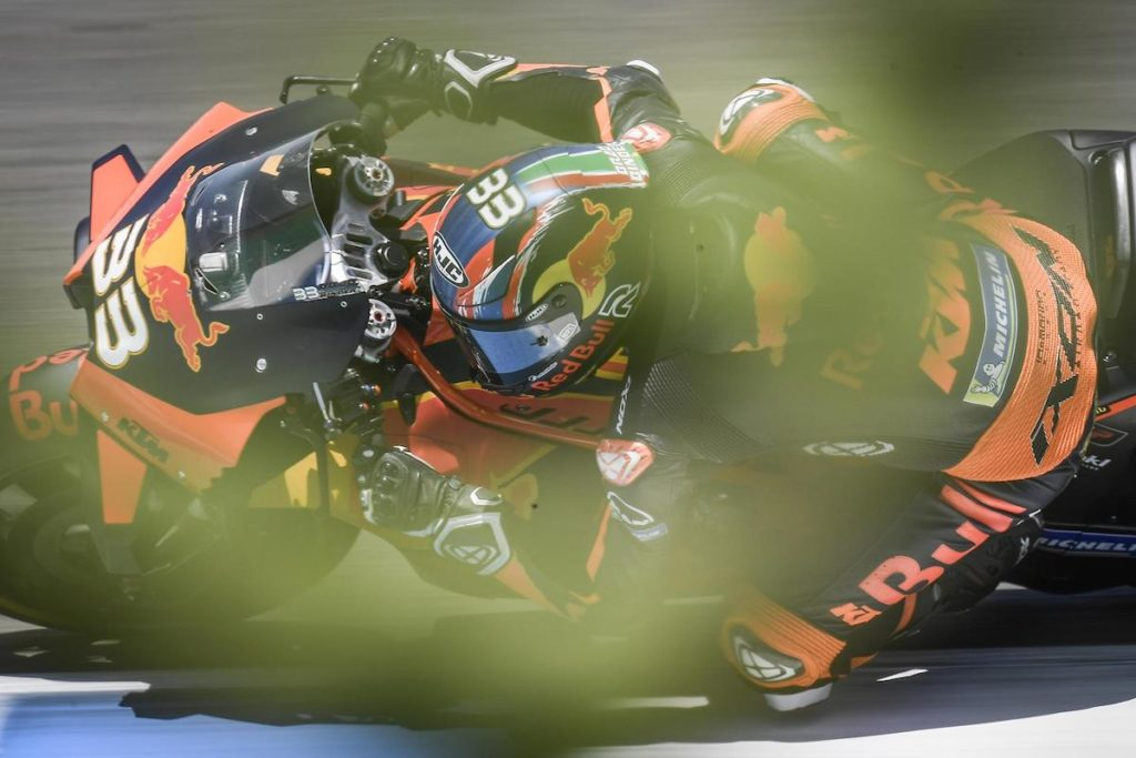 Brad Binder KTM Jerez MotoGP