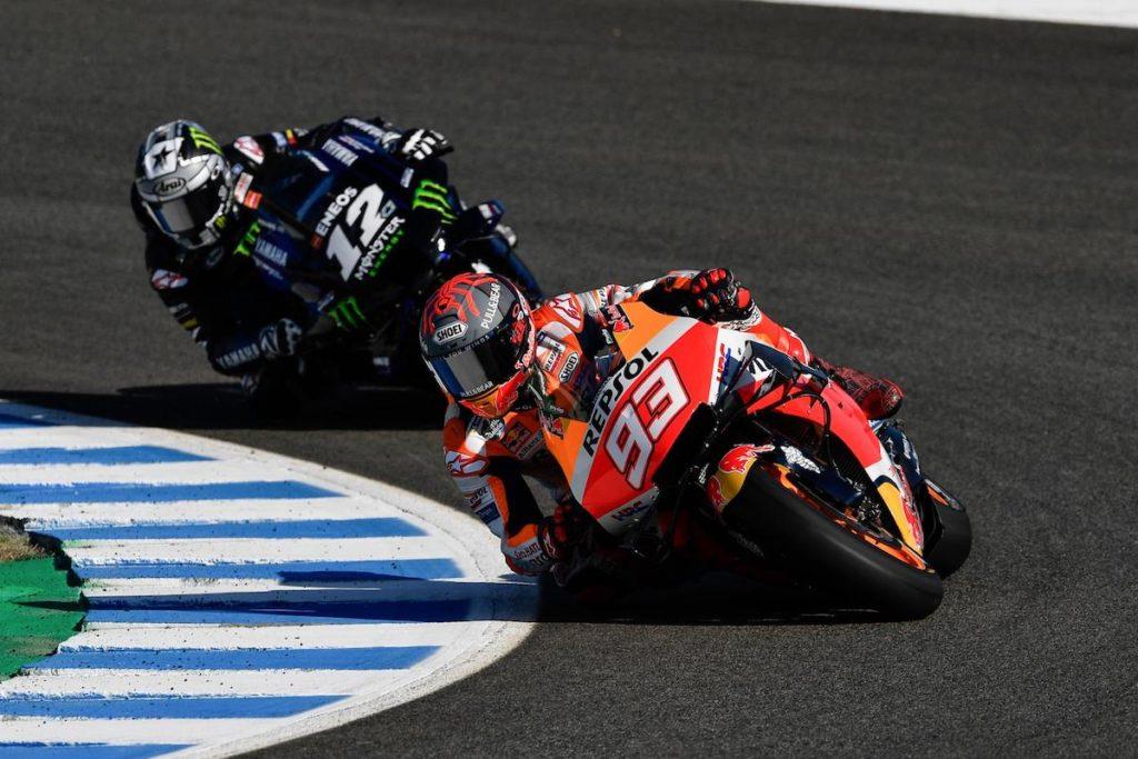 Marc Marquez Maverick Vinales Jerez MotoGP