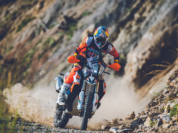 The next step: KTM unveils 890 Adventure R and Adventure R Rally