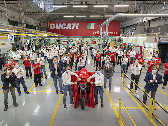 Ducati announces Multistrada V4 equipped with radar