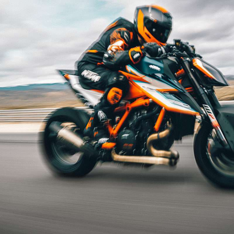 377944_MY21 KTM 1290 SUPER DUKE RR_ Action - The Bike Show