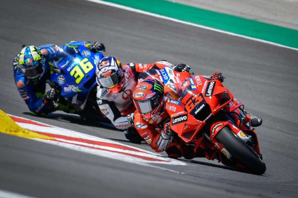 MotoGP Pecco Bagnaia Joan Mir Franco Morbidelli Portimao