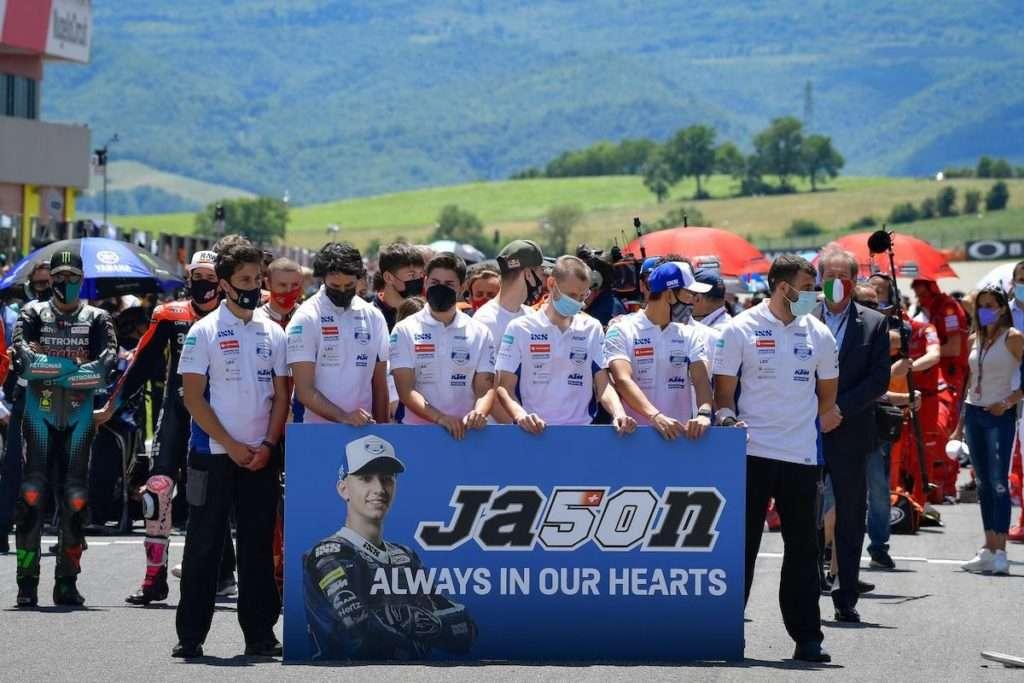 Jason memorial moto3