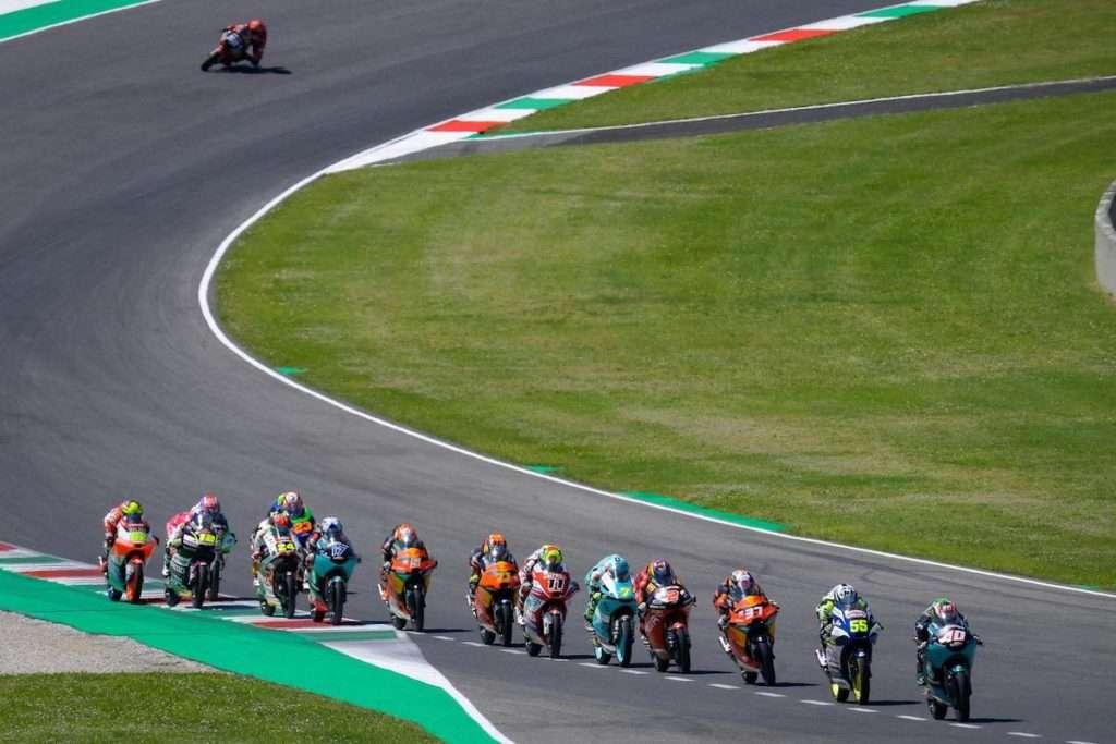 Moto3 group mugello race