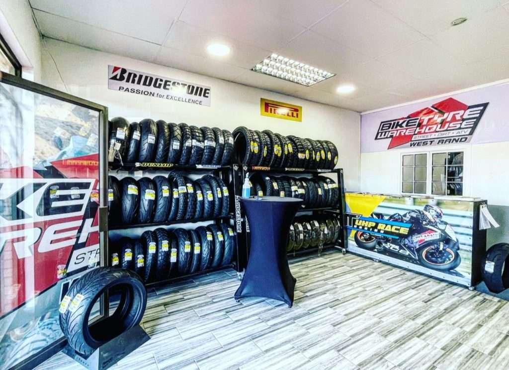 Bike Tyre Warehouse West Rand Opening shop