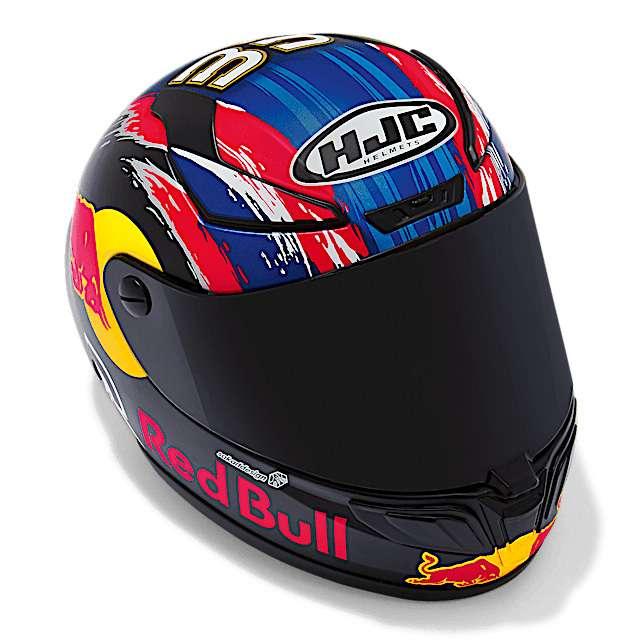 Brad Binder BB33 HJC scale replica helmet