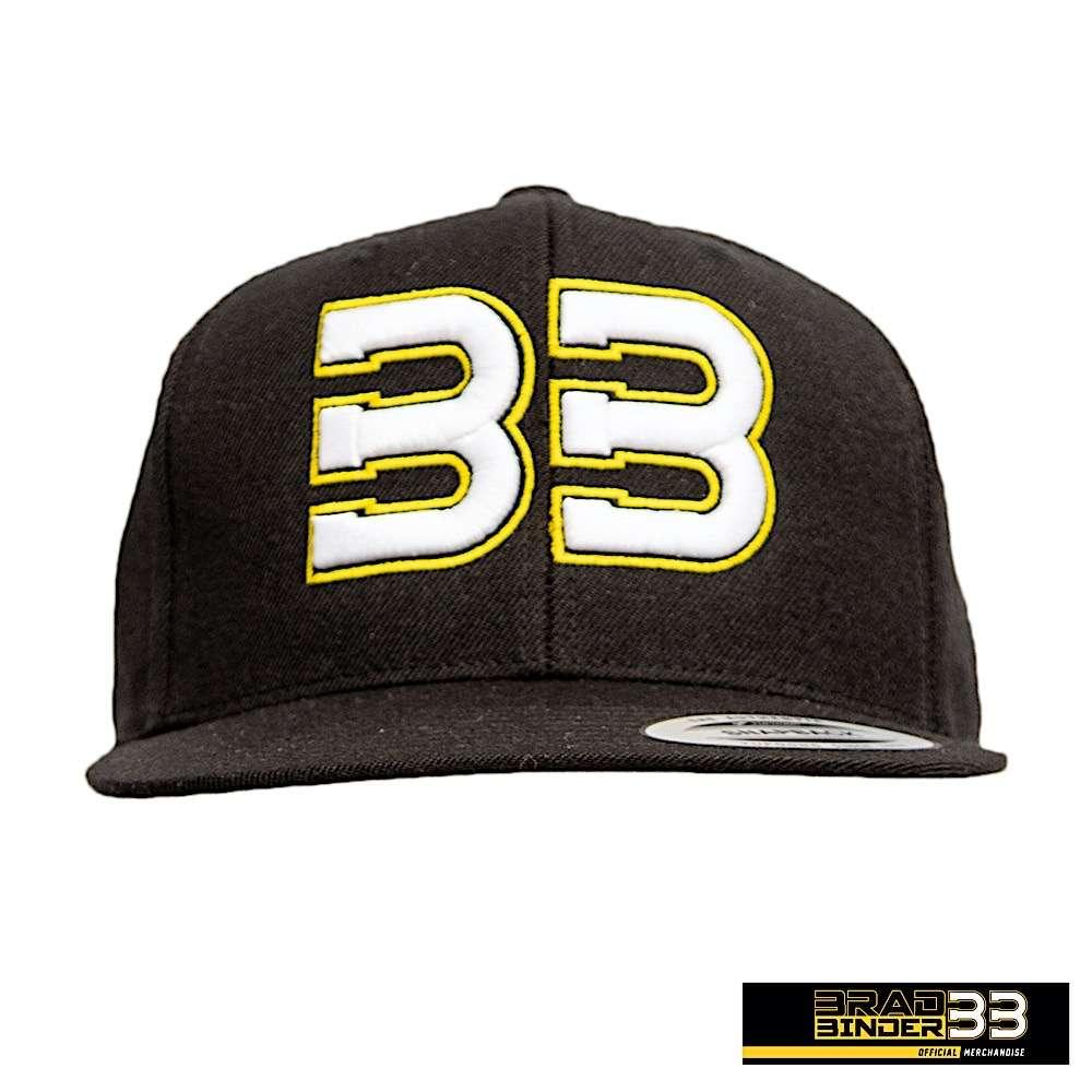 Brad Binder BB33 black cap