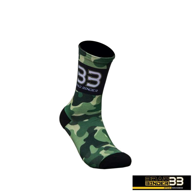 Brad Binder BB33 camouflage sock